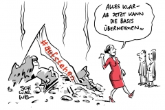 Sammlungsbewegung #aufstehen: Sahra Wagenknecht zieht sich aus Führungsebene zurück