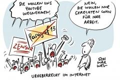 Urheberrecht im Netz: Dystopie oder Freiheit?