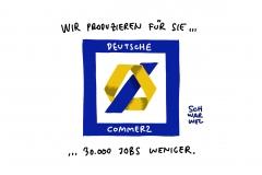"""Deutsche Bank und Commerzbank: """"Ergebnisoffene"""" Gespräche über Fusion"""