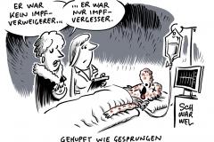 Impfquoten in Deutschland: Spahn für Masern-Impfpflicht in Kitas und Schulen
