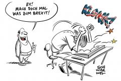 Brexit-Debatten im Unterhaus: Rücktrittsgerüchte und viele Vorschläge