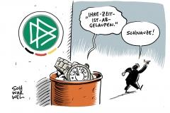 Nach anhaltender Kritik: DFB-Präsident Grindel zurückgetreten