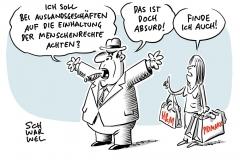 Deutsche Unternehmen im Ausland: Wirtschaft gegen Menschenrechte-Gesetz
