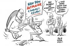 Attacken gegen Wirtschaftsminister Altmaier: Merkel-Vertrauter dient als Sündenbock
