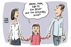 Erste Debatte im Bundestag: Trisomie-Tests: Kleines Ja mit großem Aber