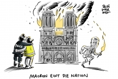 Kathedralenbrand in Paris: Notre-Dame wird auferstehen