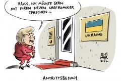 Wahl in der Ukraine: TV-Komiker Selenskyj gewinnt Stichwahl