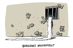 WikiLeaks-Gründer Assange: 50 Wochen Gefängnis für Verstoß gegen Kautionsauflagen