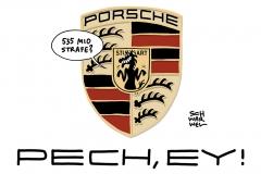 Dieselgate: Porsche muss 535 Millionen Euro Strafe zahlen