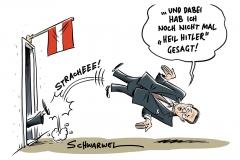 Österreichs mitregierende Rechtspopulisten FPÖ: Strache und Gudenus treten nach Videoveröffentlichung zurück