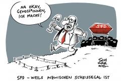 Putschgerüchte bei der SPD: Rückkehr der Gestern-Männer im Kampf gegen Absturz