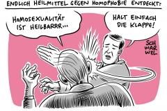 """Gesetz zu """"Konversionstherapien"""": """"Homoheilung"""" soll verboten werden"""