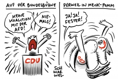 """Trotz """"Nein"""" von CDU-General Ziemiak: CDU Penzlin bildet in Meck-Pomm mit AfD stärkste Ratsfraktion"""