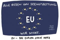 """""""Schande für Europa"""": Münchner Ratsvorsitzender der Evangelischen Kirche in Deutschland (EKD) Bischof Bedford-Strohm verurteilt Kriminalisierung von privater Seenotrettung"""