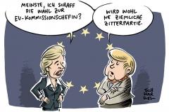 EU-Kommissionsvorsitz: Viele sind gegen von der Leyen, aber …