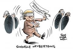 von der Leyen Verteidigungsminsiterin AKK Merkel