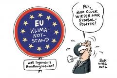 """Symbolischer Akt in Straßburg: EU-Parlament ruft """"Klimanotstand"""" aus"""