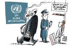 UN-Klima-Aktionsgipfel in New York: Prima Klima für Konzerne