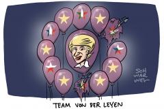 Von der Leyens neue EU-Kommission: Zwei Kandidaten sind bereits durchgefallen