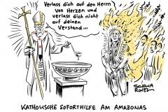 Bischöfe und Papst beraten: Amazonas-Synode mit Sprengkraft