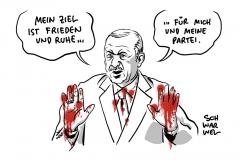 Nach US-Truppenrückzug: Türkei startet Syrien-Offensive gegen Kurden