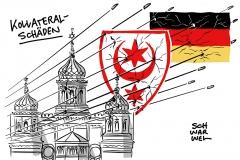 Schüsse in Halle (Saale): Generalbundesanwalt übernimmt
