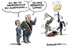 Terroranschlag von Halle: AKK über Alarmsignale, Seehofer-Äußerungen zur Gamer-Szene