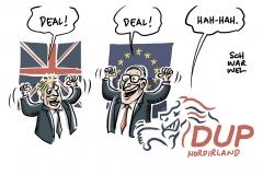 Neuer Brexit-Deal: Nordirlands DUP stellt sich quer