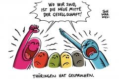 Landtagswahl Thüringen: Die Linke und AfD