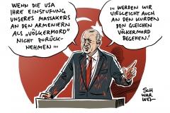 """Erdoğan: """"Größte Beleidigung unseres Volkes"""": US-Repräsentantenhaus stuft Massaker an Armeniern mit 405 zu 11 Stimmen als Völkermord ein"""