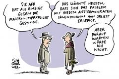 Bundestag beschließt Masern-Impfpflicht ab März 2020: Allein AfD stimmte dagegen