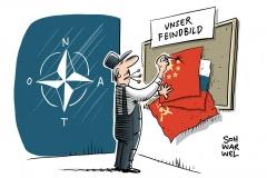 Einigkeit bei Gipfel in London: NATO-Staaten sehen China als Bedrohung
