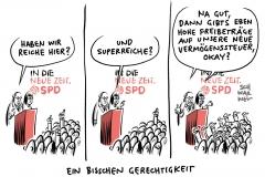 SPD-Parteitag: SPD will Vermögensteuer wieder einführen