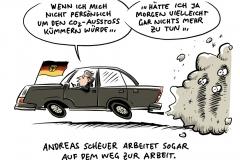 Deutschen Umwelthilfe untersucht Dienstwagen: Bundesverkehrsminister Scheuer mit dem höchsten realen CO2-Ausstoß