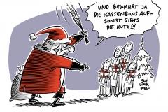 Kassenbon-Pflicht: Olaf Scholz verteidigt Pflicht zum Bon-Drucken