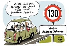 Tempolimit-Debatte: Scheuers Nein macht SPD sauer
