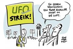 UFO-Streik zum Jahreswechsel: Eurowings streicht 170 Flüge