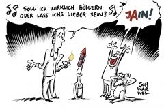 Trotz Kritik an Knallerei: Deutsche kaufen viele Raketen und Böller