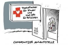 Silvesternacht in Connewitz: Polizei schwächt Aussagen zu Ausschreitungen ab