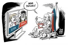 Nahost-Konflikt zwischen USA und Iran: Putin profitiert von der Lage