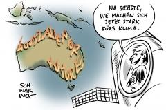 Morrison will Australiens Klimapolitik revidieren: Kohleabbau soll aber bestehen bleiben