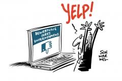 Fünf Sterne oder zwei im Falle Yelp: BGH: Bewertungsportale dürfen Urteile filtern