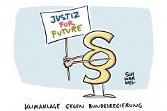 Klimaklage gegen Bundesregierung: Deutsche Umwelthilfe, Greenpeace, Germanwatch, Fridays for Future und BUND geeint