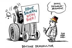 """Bauern-Proteste zur """"Grünen Woche"""": Bauern legen Berufsverkehr lahm"""