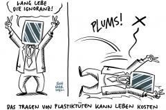 Werbebild vor Obdachlosen-Lager: Lars Eidinger erntet Shitstorm für Aldi-Tasche