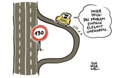 Begrenzung auf Autobahnen ADAC rückt vom Nein zum Tempolimit ab