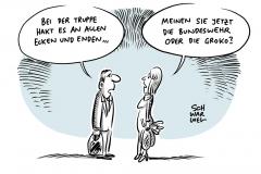 """Wehrbericht nennt Beispiele für Mangelwirtschaft: Beschaffungswesen der Bundeswehr """"organisierte Verantwortungslosigkeit"""""""