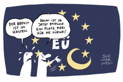Brexit ratifiziert: Europa trauert um Briten