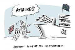 Handelsbeziehungen nach Brexit: London und Brüssel stellen sich hart auf