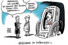 Thüringen: FDP-Ministerpräsident von Höckes Gnaden